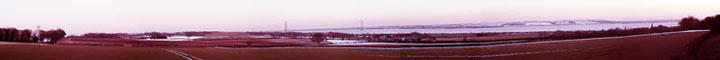 Humber Bridge panarama by Iain